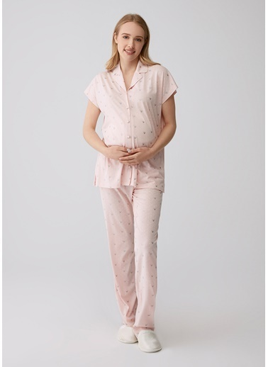 Dagi Pijama Takım Somon
